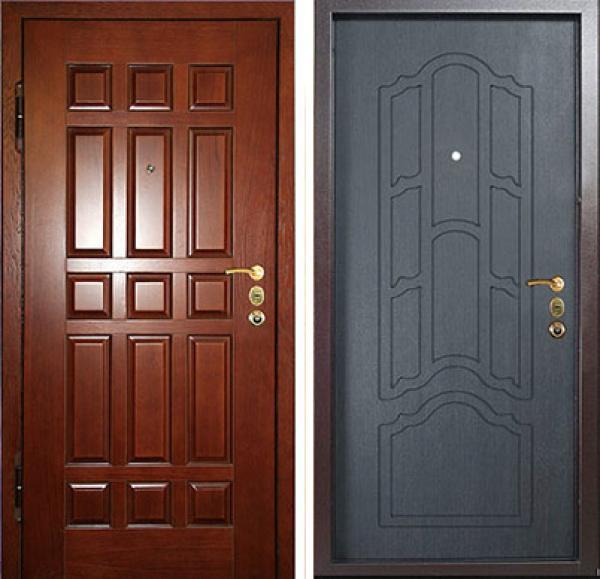 металлические двери на заказ клин