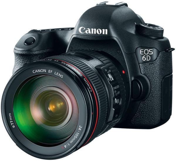 Полное описание зеркальной фотокамеры Canon EOS 6D и кит-объектива Canon EF 24-105mm f/4L IS USM