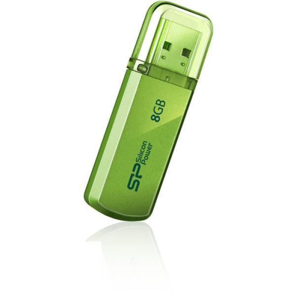 Флэш-накопитель USB2.0   8GB Silicon Power Helios 101 SP008GBUF2101V1N