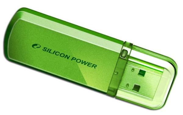 Флэш-накопитель USB2.0  16GB Silicon Power Helios 101 SP016GBUF2101V1N