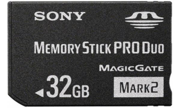 Карта памяти MemoryStick Pro Duo 32GB Sony MS-MT32GN-USB2 MARK 2