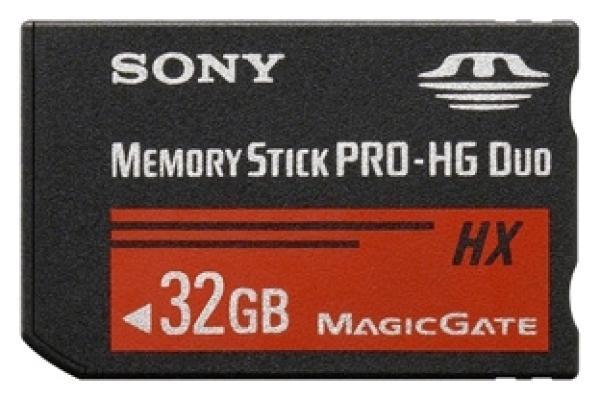 Карта памяти MemoryStick Pro-HG Duo 32GB Sony MS-HX32BK