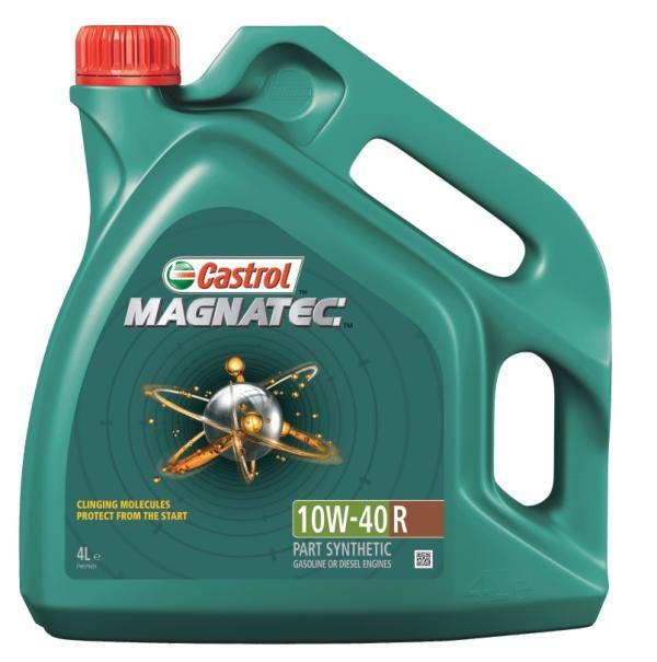 Масло моторное полусинтетическое Castrol Magnatec 10W-40 R, A3/B4, 4л