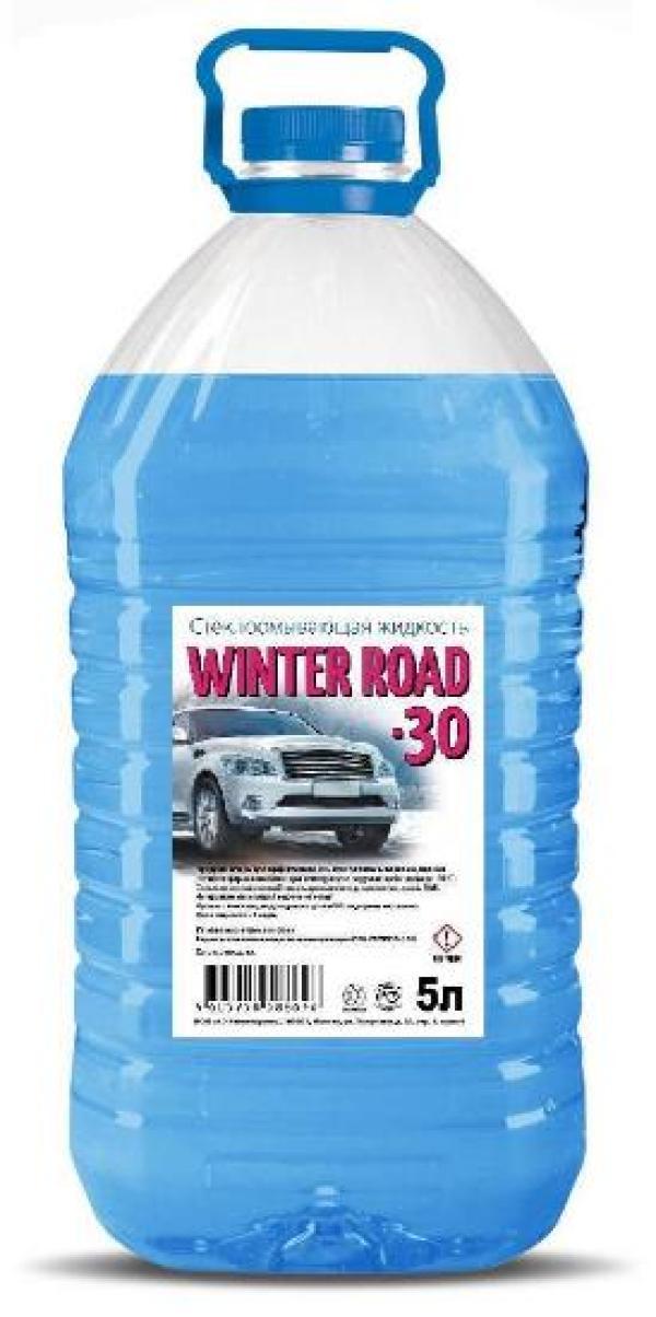 Жидкость для омывателя зимняя, -30Гр, 5л, ПЭТ