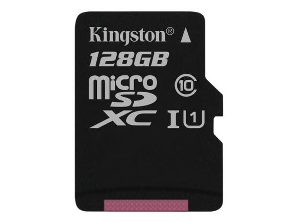 Карта памяти SDXC-micro 128GB Kingston SDC10G2/128GB