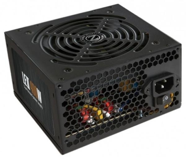 БП для корпуса ATX Zalman ZM600-LE2, 600Вт, 20+4pin, 4+4pin(CPU)/ 6pin(PCI-E)/ 8pin(PCI-E)/3*4pin(molex)/FD/6*SATA, 120*120мм