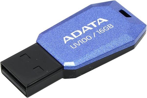 Флэш-накопитель USB2.0  16GB A-Data UV100 AUV100-16G-RBL