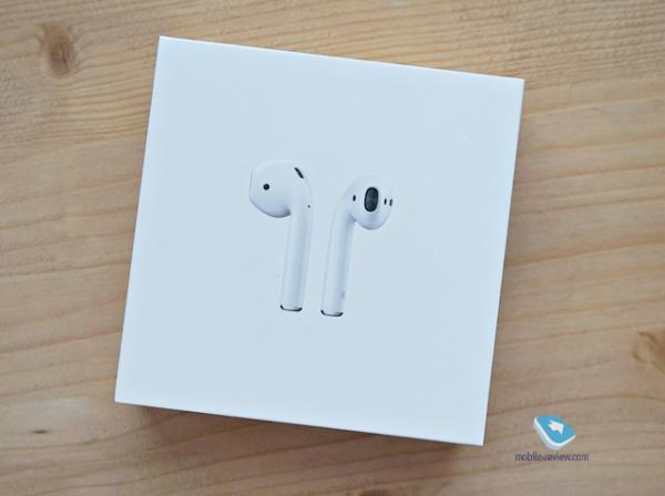 Обзор Bluetooth-гарнитуры Apple AirPods