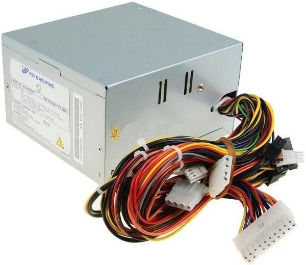 БП для корпуса ATX FSP QD350Z, 350Вт, 24pin, 3*4pin(molex)/4pin/FD/2*SATA, 80*80мм, PFC
