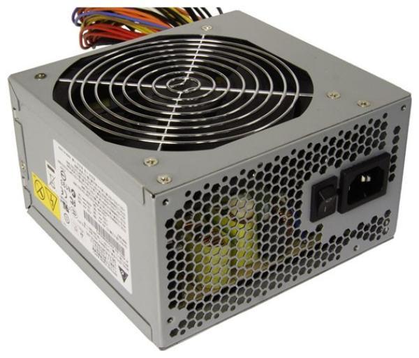 БП для корпуса ATX Delta Electronics GPS-550AB-A, 550Вт, 20+4+8pin, 2*6pin(PCI-E)/6*4pin(molex)/FD/4*SATA, 120*120мм, Active PFC