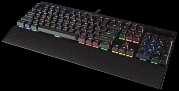 Игровая клавиатура K70 LUX RGB с механическими переключателями Cherry MX