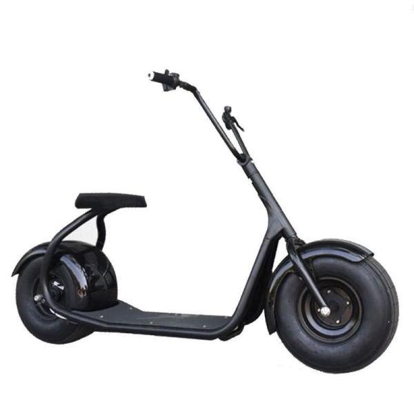 Скутер электрический Citycoco, 1 кВт, 12000 мАч, 50 км/ч, 55кг, черный