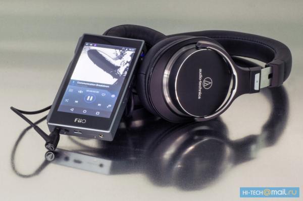 Профессиональные наушники Audio-Technica и плееры FiiO: идеальный тандем
