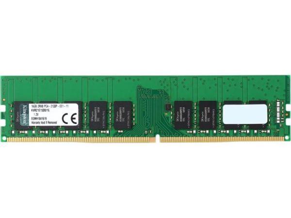 Оперативная память DIMM DDR4 ECC  16GB, 2133МГц (PC17000) Kingston KVR21E15D8/16, 1.2В