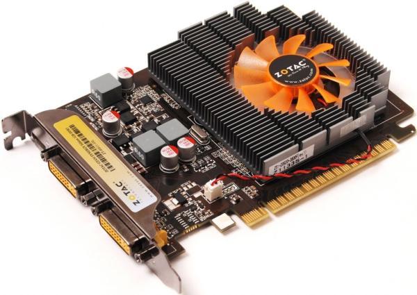 Видеокарта PCI-E Gf  GT630 Zotac ZT-60411-10L, 2GB GDDR3 128bit 700/1333МГц, PCI-E3.0, HDCP, 2DVI/miniHDMI, 50Вт