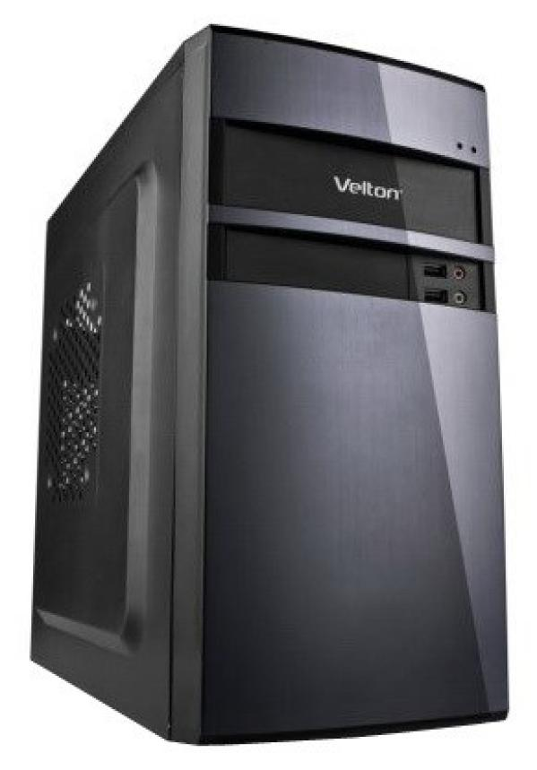Компьютер РЕТ, Pentium G4600 3.6/ ASUS H110M Звук Видео LAN1Gb/ DDR4 4GB/ 1TB / DVD-RW/ mATX 350Вт 2USB2.0/2USB3.0 Audio черный-серебристый