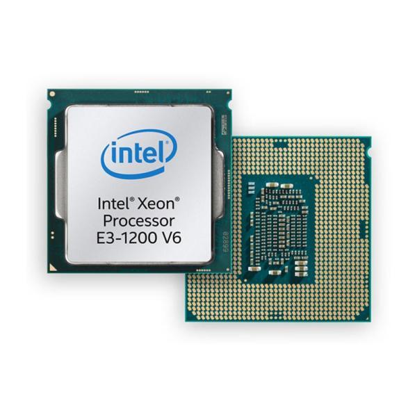Процессор S1151 Intel Xeon E3-1225 v6 3.3ГГц, 4*256KB+8MB, 5ГТ/с, Kaby Lake 0.014мкм, Видео, Quad Core