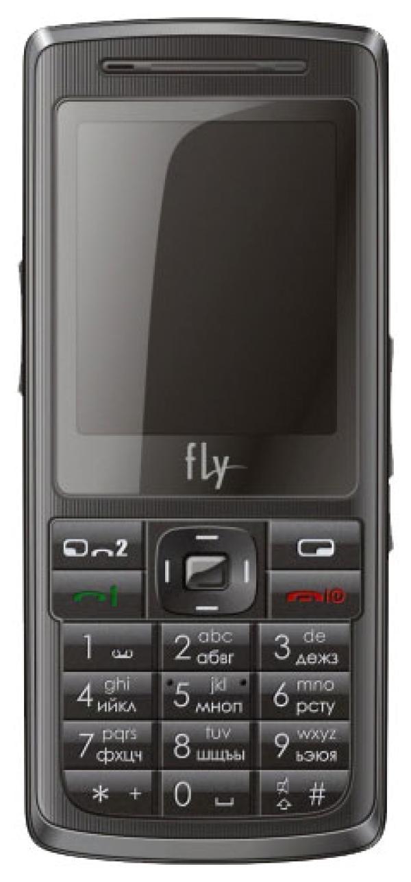 """Мобильный телефон 2*SIM Fly B 700 Duo, GSM900/1800/GPRS, 2"""" 176*220, камера 2Мпикс, 0.76M, SD-micro, USB, BT,  диктофон, 50*110*15мм 95г, черный"""
