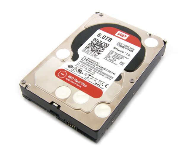 "Жесткий диск 3.5"" SATA  6TB WD Red Pro (WD6001FFWX/WD6002FFWX), SATAIII, 7200 rpm, 128mb cache"