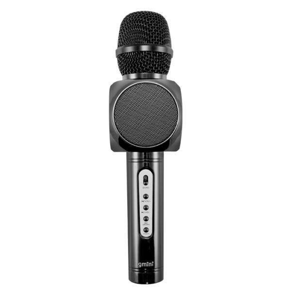 Микрофон беспроводной Gmini GM-BTKP-03B, 2*5Вт, 100..10000Гц, Bluetooth, эффекты, Li-ion/2600мАч/8ч, черный