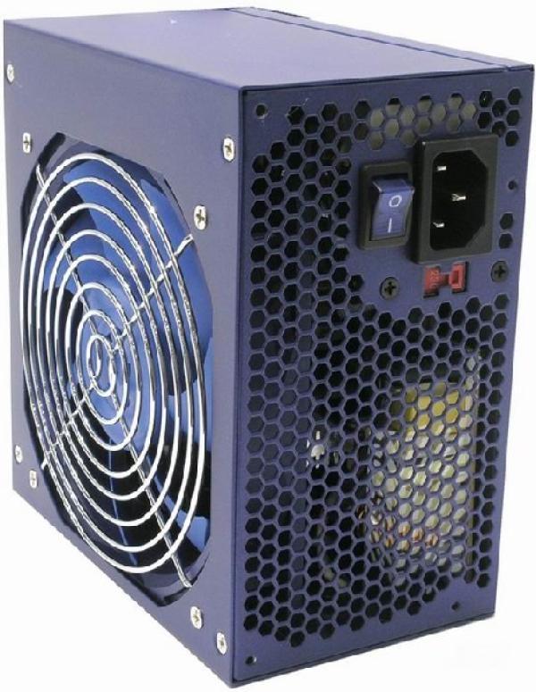 БП для корпуса ATX FSP Group AX500-A Blue Storm, 500Вт, P4 20+4pin, 6pin(PCI-E)/8*4pin(molex)/FD/2*SATA, 120*120мм, PFC, тихий
