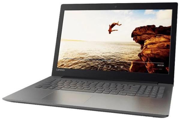 "Ноутбук 15"" Lenovo Ideapad 320-15IKBN (80XL03K6RK), Core i3-7100U 2.4 6GB 1Тб+128GB SSD GT940MX 2GB DVD-RW 2*USB3.0 USB-C LAN WiFi BT HDMI камера SD 2.1кг W10 черный"