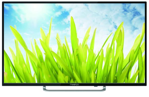 "ТВ LED 32"" Prestigio 32"" Wize 1, 1366*768, RCA/3HDMI/SCART/VGA, SPDIF(Coaxial)/MiniJack, CI+/USB2.0, DivX/JPEG/MP3/MPEG4/MKV, DVB-C/T2/S2, 2*5Вт, черный"