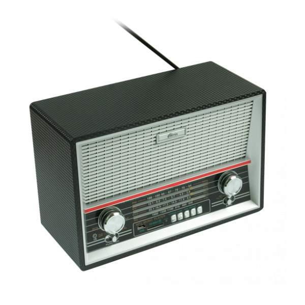 Радиоприемник Ritmix RPR-101 Black, MP3, AM/FM/SW, USB2.0/SD, AUX/MiniJack, аккумулятор/R20*6шт/220В, ПДУ, черный