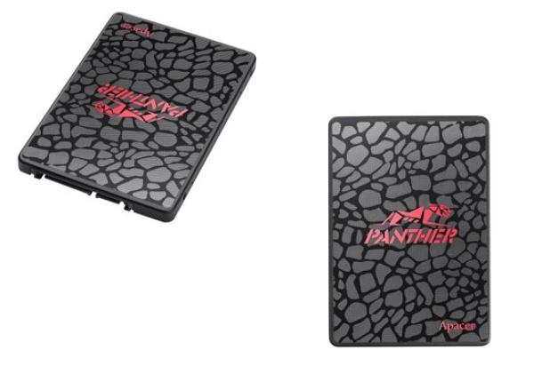 "Накопитель SSD 2.5"" SATA  120GB Apacer AS350 PANTHER [AP120GAS350-1], SATAIII, TLC, 500/375MB/s"