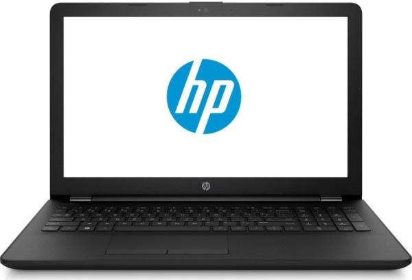 "Ноутбук 15"" HP 15-bs027ur (1ZJ93EA), Core i3-6006U 2.0 4GB 500GB DVD-RW USB2.0/2*USB3.0 LAN WiFi BT HDMI камера SD 2.1кг DOS черный"
