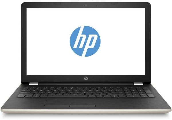 "Ноутбук 15"" HP 15-bs039ur (1VH39EA), Pentium N3710 1.6 4GB 500GB USB2.0/2*USB3.0 LAN WiFi BT HDMI камера SD 2.1кг W10 золотистый-черный"