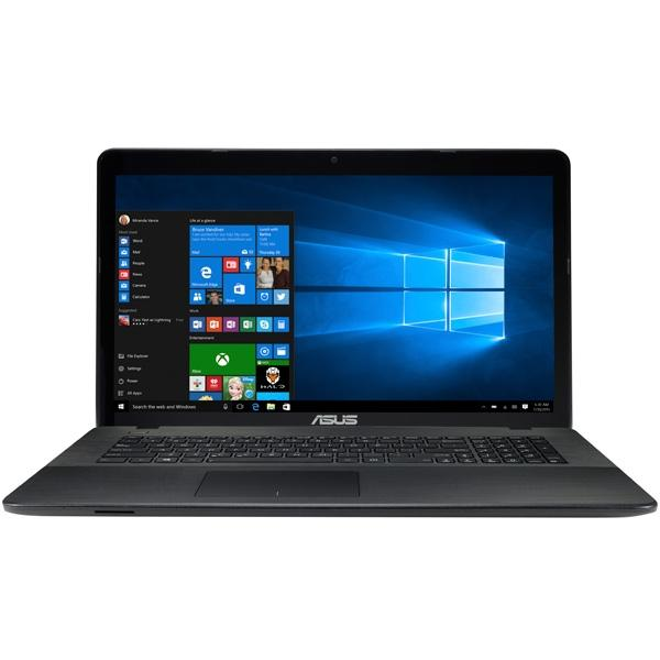 "Ноутбук 17"" ASUS X751NV-TY011T, Pentium N4200 1.1 8GB 1Тб 1600*900 GT920MX 2GB DVD-RW USB2.0/2*USB3.0 LAN WiFi BT HDMI камера SD 2.8кг W10 черный"