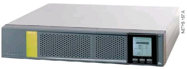 ИБП Socomec NPR-1100-RK, 1100ВА/880Вт, для монтажа в стойку 19, 2U, 6 выходов, COM, USB, холодный старт, ЖК дисплей, ПО