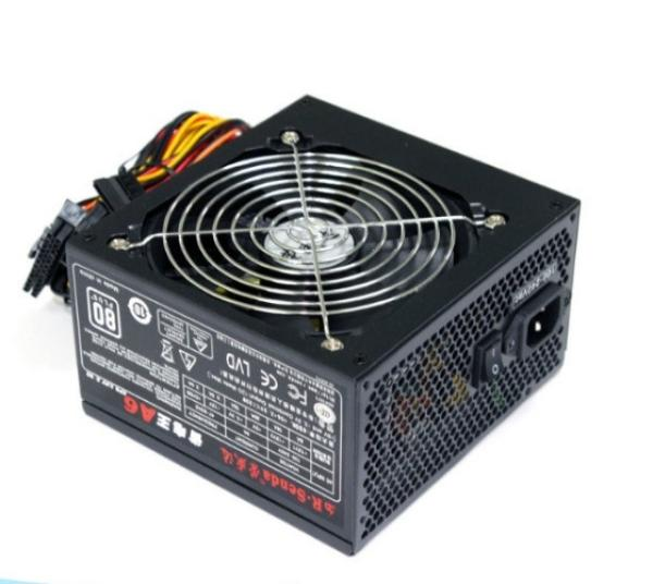 БП для корпуса ATX Rsenda SD-1600W, 1600Вт, 80 PLUS Bronze, 20+4pin, 4+4pin(CPU)/12*6+2pin(PCI-E)/6*4pin(molex)/8*SATA, 120*120мм, Active PFC