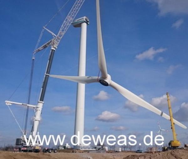 Промышленные ветрогенераторы от 100 кВт из Германии