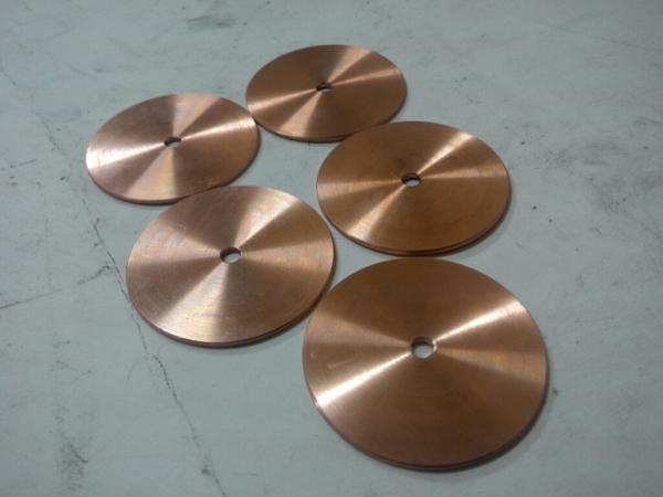 Электроды-ролики, диски для стилоскопов