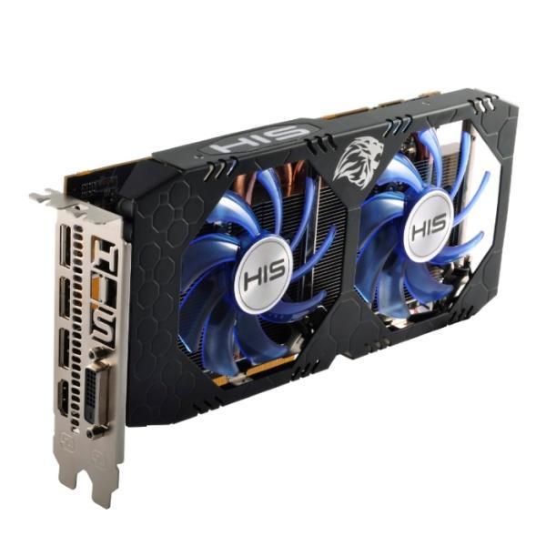Видеокарта PCI-E Radeon RX 580 HIS HS-580R4LCBB, 8GB GDDR5 256bit 1257/8000МГц, PCI-E3.0, HDCP, 3*DisplayPort/DVI/HDMI, CrossFireX, Heatpipe, 150Вт