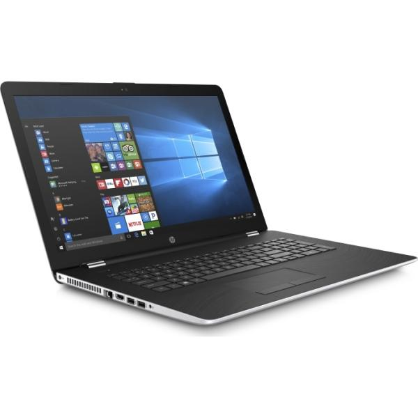 "Ноутбук 17"" HP 17-bs101ur (2PN23EA), Core i5-8250U 1.6 6GB 1Тб 1920*1080 IPS AMD 530 2GB DVD-RW USB2.0/2USB3.0 LAN WiFi BT HDMI камера SD 2.7кг W10 серебристый-черный"
