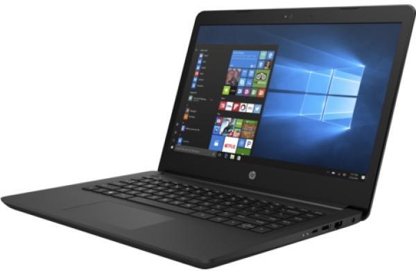 """Ноутбук 14"""" HP 14-bp007ur (1ZJ40EA), Pentium N3710 1.6 4GB 500GB USB2.0/2*USB3.0 LAN WiFi BT HDMI камера SD 2.04кг W10 черный"""