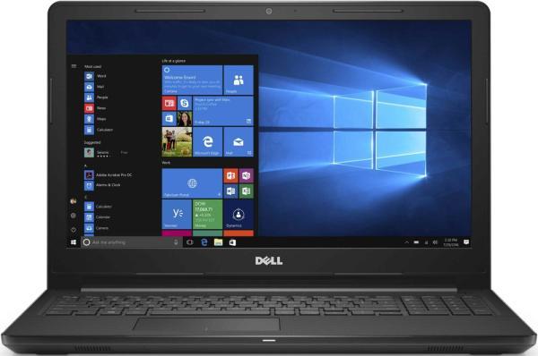 """Ноутбук 15"""" Dell Inspiron 3567-1144, Core i5-7200U 2.5 4GB 500GB R5 M430 2GB DVD-RW 2USB2.0/USB3.0 LAN WiFi BT HDMI камера SD 2.2кг W10 черный"""