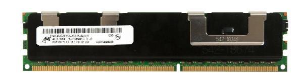 Оперативная память DIMM DDR3 ECC Reg  4GB, 1333МГц (PC10600) Micron MT36JSZF51272PZ, 1.5В, аналог HP 500203-061,500658-B21, восстановленная