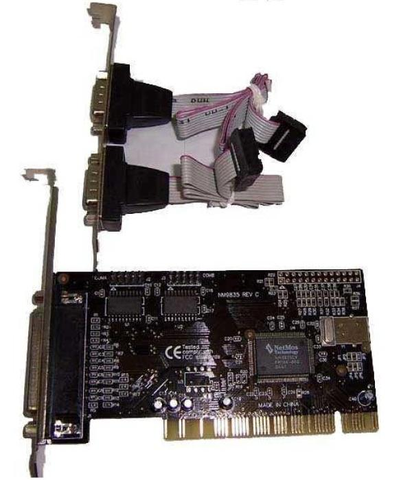 Контроллер RS232 AgeStar AS-PRS2PL1, PCI, 2*RS232, 1*LPT, retail