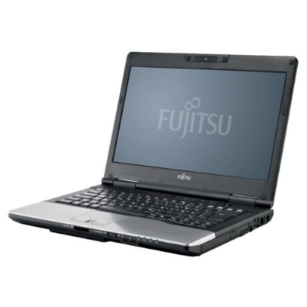 "Ноутбук 14"" Fujitsu Lifebook S752, Core i3-2348M 2.3 4GB 320GB 1366*768 DVD-RW 3*USB2.0/2*USB3.0 LAN WiFi BT DP/VGA камера 2.2кг W7P черный, восстановленный"