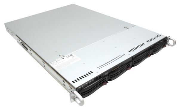 "Сервер Dual S1366 Supermicro SYS-6016TU, 2(2)*Xeon E5530 / i5520/ 0(12) DDR3 ECC Reg/ 4*SATA RAID (0 1 5 10)/ 0(4)*3.5"" SATA / 2GLAN/ USB3.0/ 1U/ 560Вт"