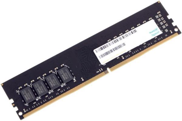 Оперативная память DIMM DDR4  4GB, 2400МГц (PC19200) Apacer AU04GGB24CEWBGH, 1.2В