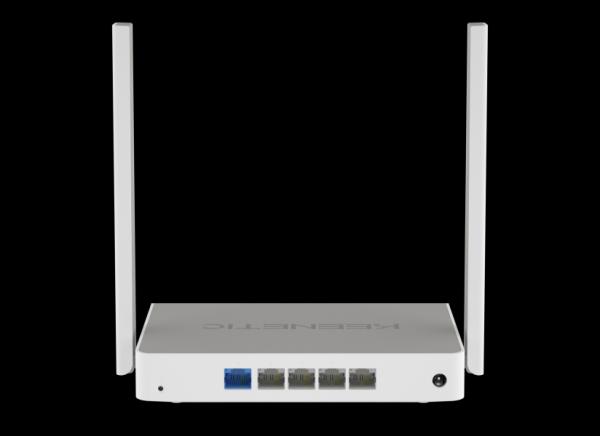Маршрутизатор WiFi Keenetic Omni KN-1410, 4*RJ45 LAN 100Мбит/с, 1*RJ45 WAN 100Мбит/с, 802.11n 300Мбит/с, 2.4ГГц, 1*USB2.0, 3G/4G/LTE, принт-сервер, VPN-клиент, Firewall
