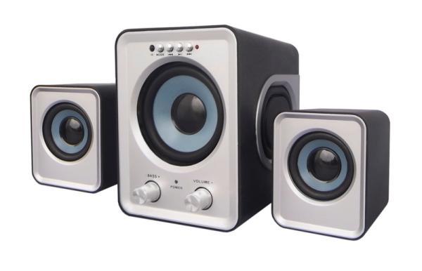 Колонки 2.1 с MP3 плеером Smartbuy Buzz (SBA-2600)
