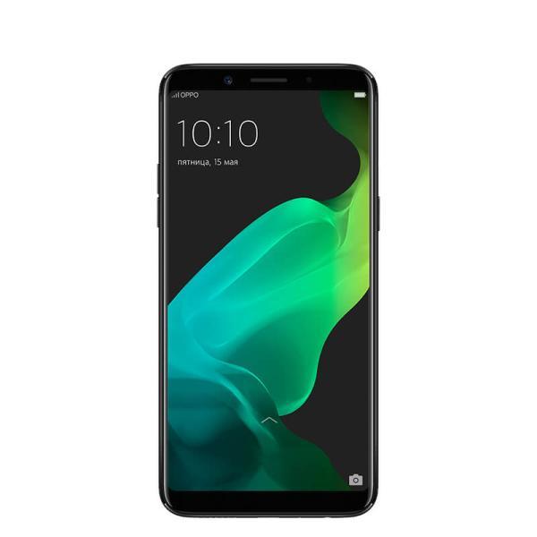 """Смартфон 2*sim OPPO F5 Youth, 8*2.5ГГц, 32GB, 6"""" 2160*1080, SDHC-micro, 4G/3G, GPS, BT, WiFi, радио, 2 камеры 13/16Мпикс, Android 7.1, 76*156.5*7.5мм 152г, черный"""