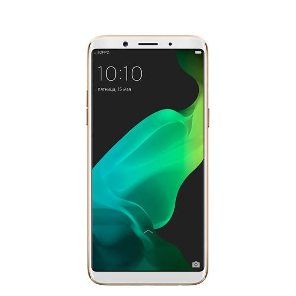 "Смартфон 2*sim OPPO F5 Youth, 8*2.5ГГц, 32GB, 6"" 2160*1080, SDHC-micro, 4G/3G, GPS, BT, WiFi, радио, 2 камеры 13/16Мпикс, Android 7.1, 76*156.5*7.5мм 152г, золотистый"
