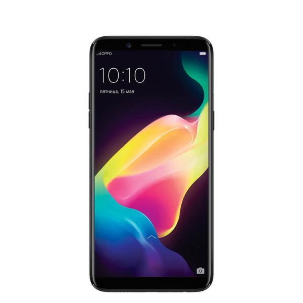 """Смартфон 2*sim OPPO F5, 8*2.5ГГц, 32GB, 6"""" 2160*1080, SDHC-micro, 4G/3G, GPS, BT, WiFi, радио, 2 камеры 16/20Мпикс, Android 7.1, 76*156.5*7.5мм 152г, черный"""